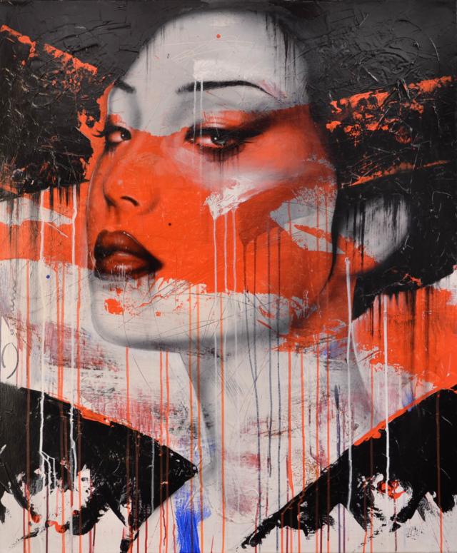 Japanse vrouw – Hans Jochem Bakker – Art center Hoorn