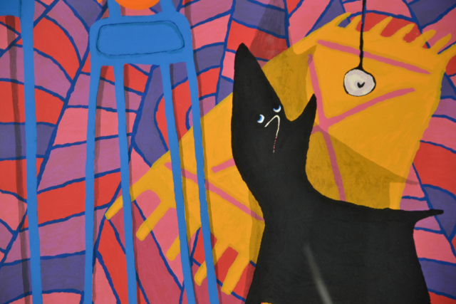 Zwart hondje – Peter Bastiaanssen – Art center Hoorn