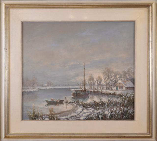 Winterlandschap – Peter van Berkel – Art center Hoorn