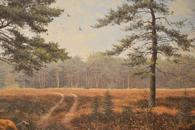 Bosgezicht – Theo Bijkerk – Art center Hoorn