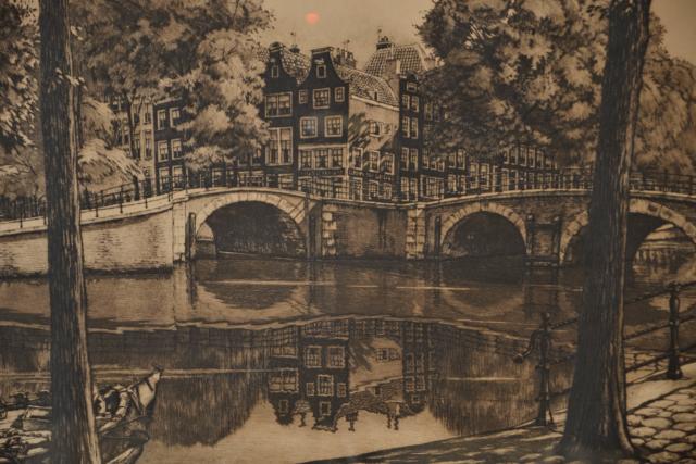 Hoek Keizersgracht/Reguliersgracht – Cornelis Brandenburg – Art center Hoorn