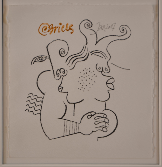 Originele tekening – Clemens Briels – Art center Hoorn