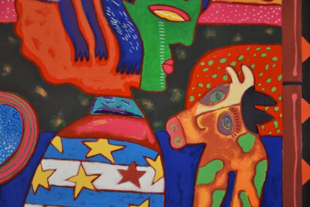 Un pajaro negro – Clemens Briels – Art center Hoorn