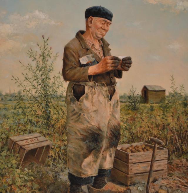 Boer – Marius van Dokkum – Art center Hoorn