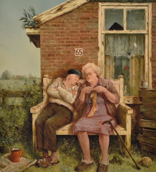 Echte liefde – Marius van Dokkum – Art center Hoorn