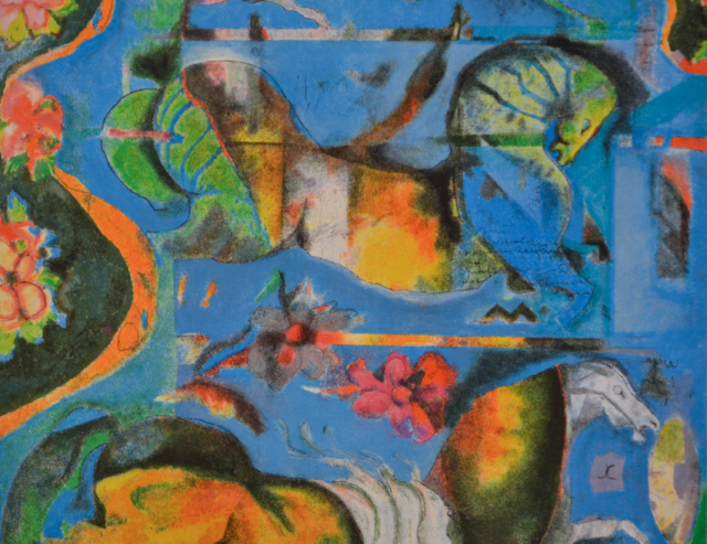 Horses and Flowers – Astrid Engels – Art center Hoorn