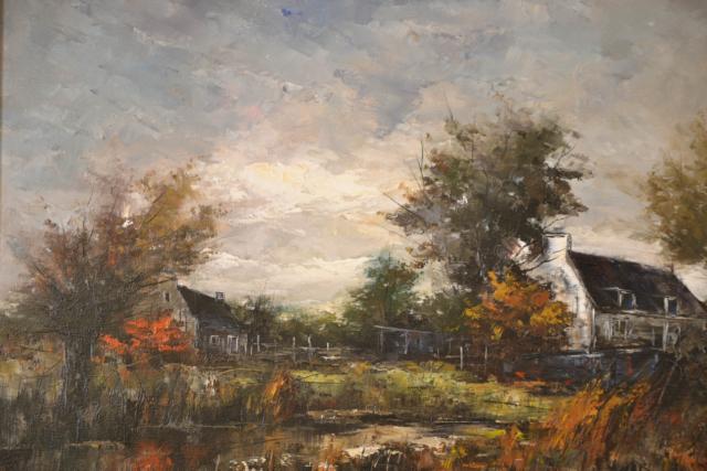 Huis aan water – G.J. Ernens – Art center Hoorn