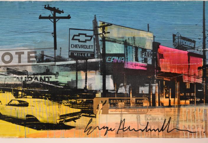 City Motel - George Heidweiller - Art center Hoorn