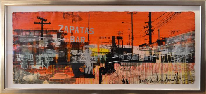 City Motel Red - George Heidweiller - Art Center Hoorn