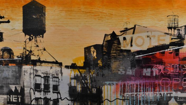 City Motel Orange - George Heidweiller - Art Center Hoorn