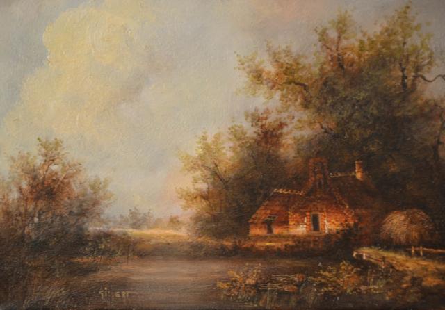 Boerderij met vijver – Naïck Gilgert – Art center Hoorn