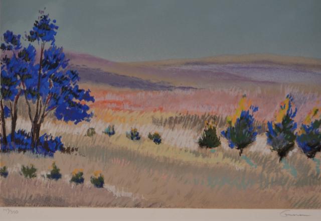 Landschap – Ellen Gunn – Art center Hoorn
