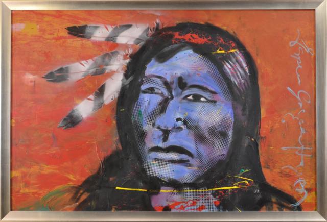 Indian Hunter – Espen Greger Hagen – Art center Hoorn