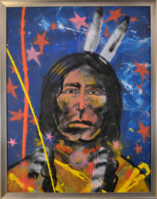 Indian Worrier – Espen Greger Hagen – Art center Hoorn