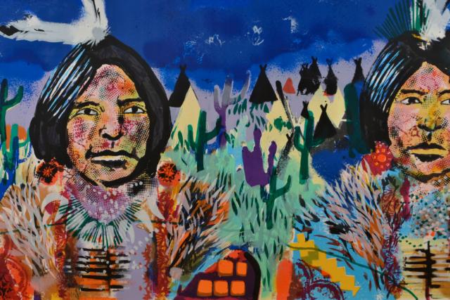 Indian Village – Espen Greger Hagen – Art center Hoorn