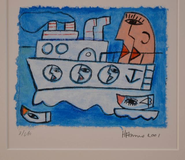 Boten – Hannes Kuiper – Art center Hoorn