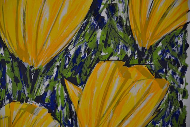 Gele tulpen – Ad van Hassel – Art center Hoorn