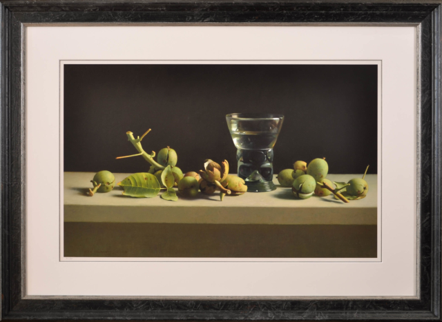 Walnoten en romeins glas - Henk Helmantel - Art Center Hoorn