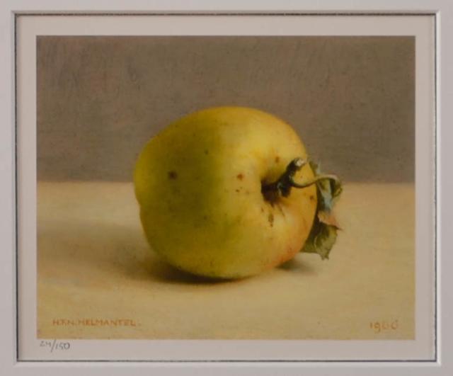 Stilleven met appel – Henk Helmantel – Art center Hoorn