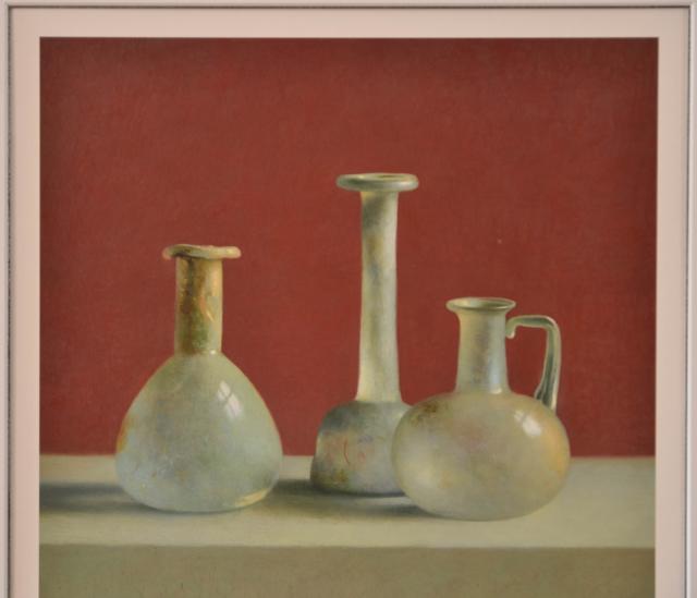 Romeins glas – Henk Helmantel – Art center Hoorn