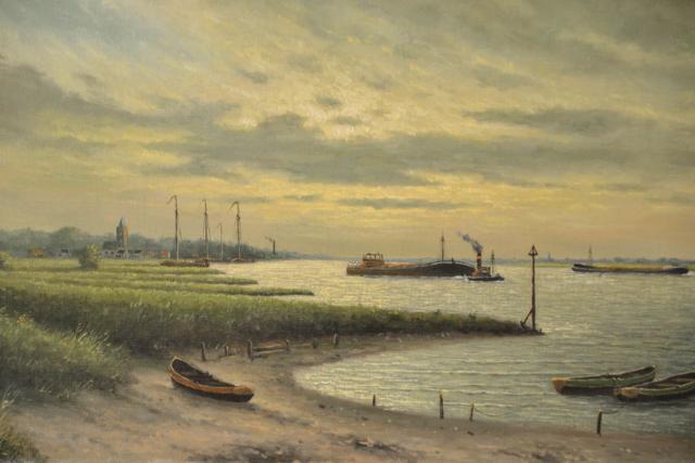 Riviergezicht – H. Ernens – Art center Hoorn