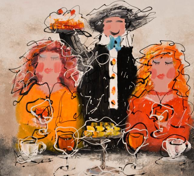 Diner – Caspar van Houten – Art center Hoorn