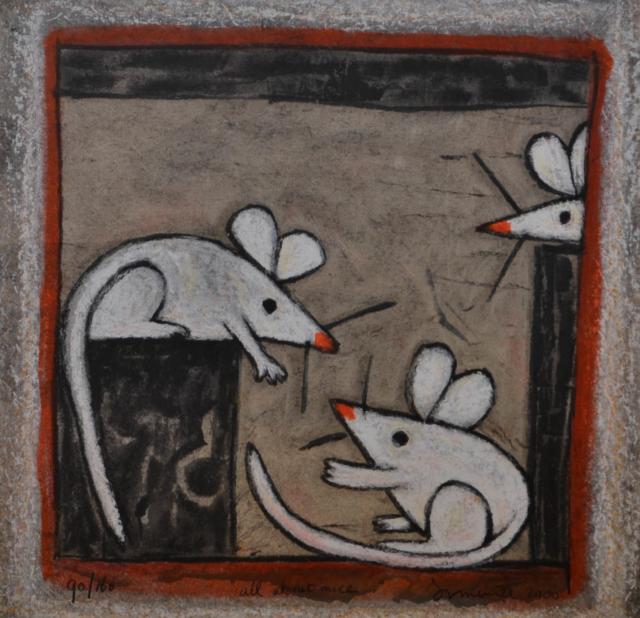 All about mice – Hans Innemée – Art center Hoorn