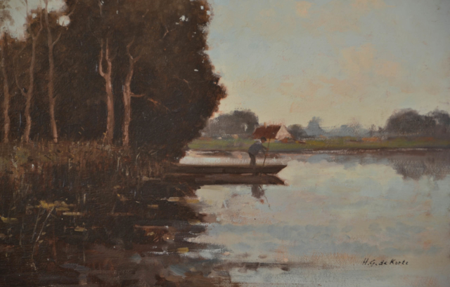 Watergezicht – H.G. de Korte – Art center Hoorn
