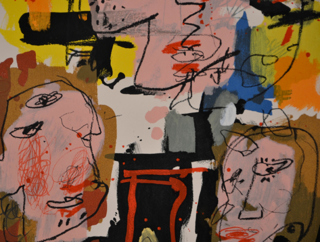 Collage – Kees Salentijn – Art center Hoorn