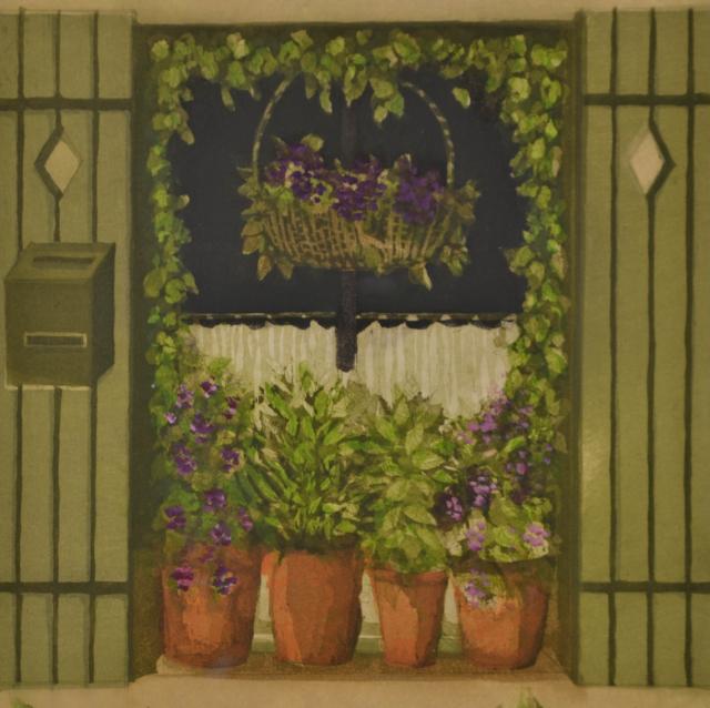 """""""""""Rue de Thèlon I"""""""" – Laetitia de Haas – Art center Hoorn"""