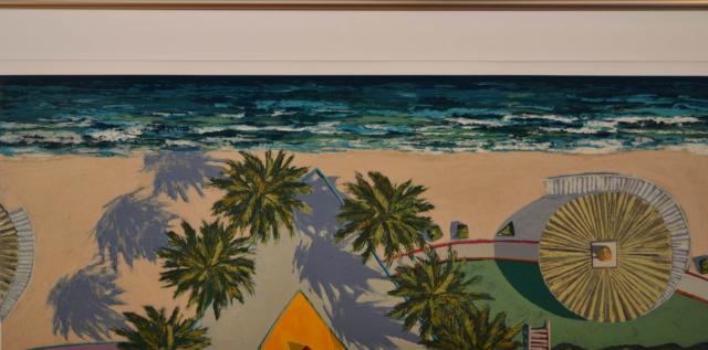 Beach – Douglas K. Morris – Art center Hoorn
