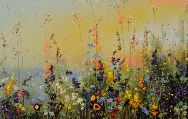 Sunset Sky – Yulia Muravyeva – Art center Hoorn