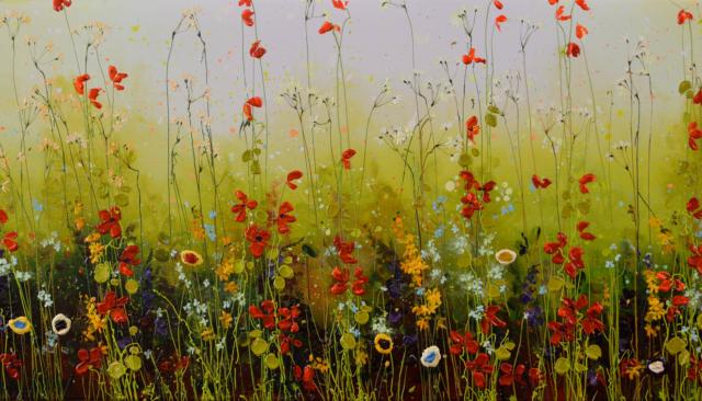 Flowers in Spring – Yulia Muravyeva – Art center Hoorn
