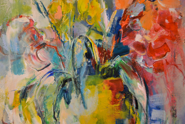 Bloemenvaas – Maria de Vries – Art center Hoorn