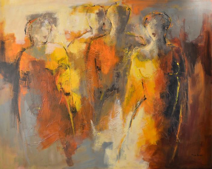 Silhouetten - Maria de Vries - Art center Hoorn