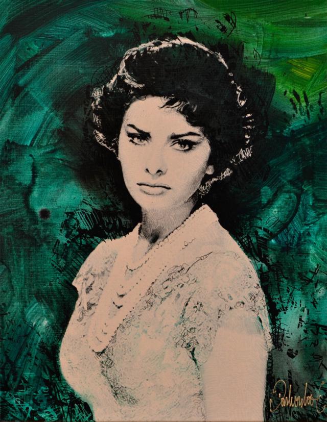 Sofia Loren – Peter Donkersloot – Art center Hoorn