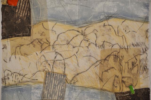Red – Bernard Remusat – Art center Hoorn