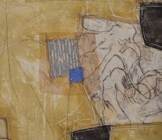 Blue – Bernard Remusat – Art center Hoorn