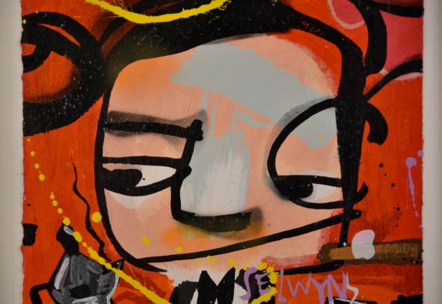 Ten Gangsters VIII – Selwyn Senatori – Art center Hoorn