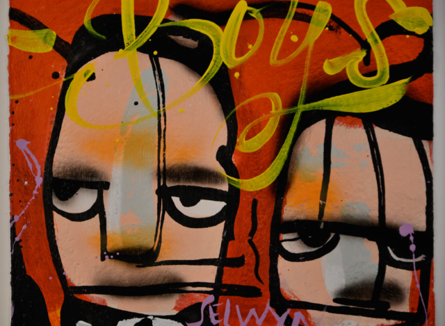 Ten Gangsters VI & VII – Selwyn Senatori – Art center Hoorn