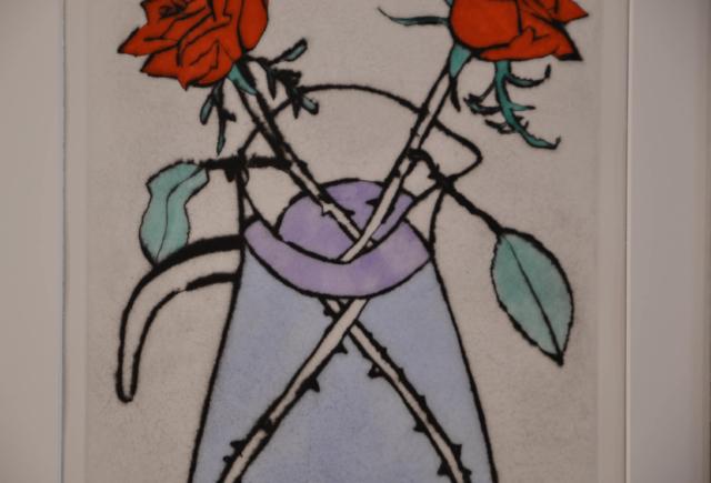 Scarlet Rose – Richard Spare – Art center Hoorn