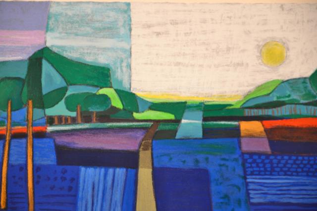 Vanaf de Kuiperberg – Ton Schulten – Art center Hoorn