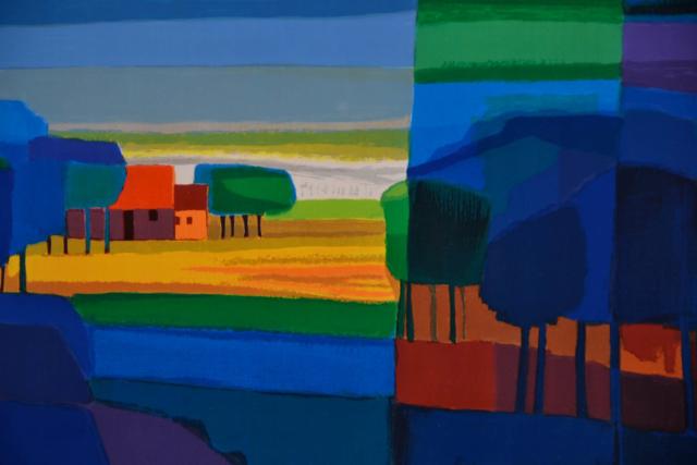 Kleurrijke Bomen – Ton Schulten – Art center Hoorn