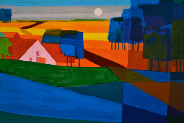 Door de velden – Ton Schulten – Art center Hoorn