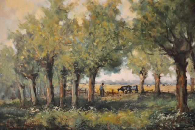 Onder de Bomen – J. Verhoeven – Art center Hoorn