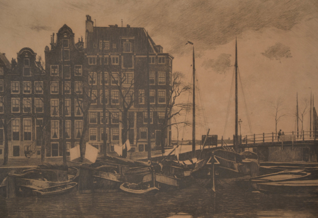 Binnenkant Amsterdam – Willem Witsen – Art center Hoorn
