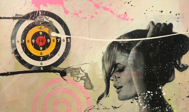 Bulls Eye – Ronald Chapeau – Art center Hoorn