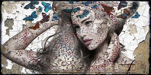 Butterfly II – Hans Jochem Bakker – Art center Hoorn