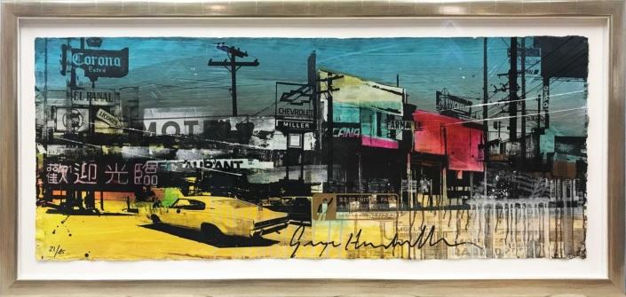 City Motel Blue - George Heidweiller - Art center Hoorn