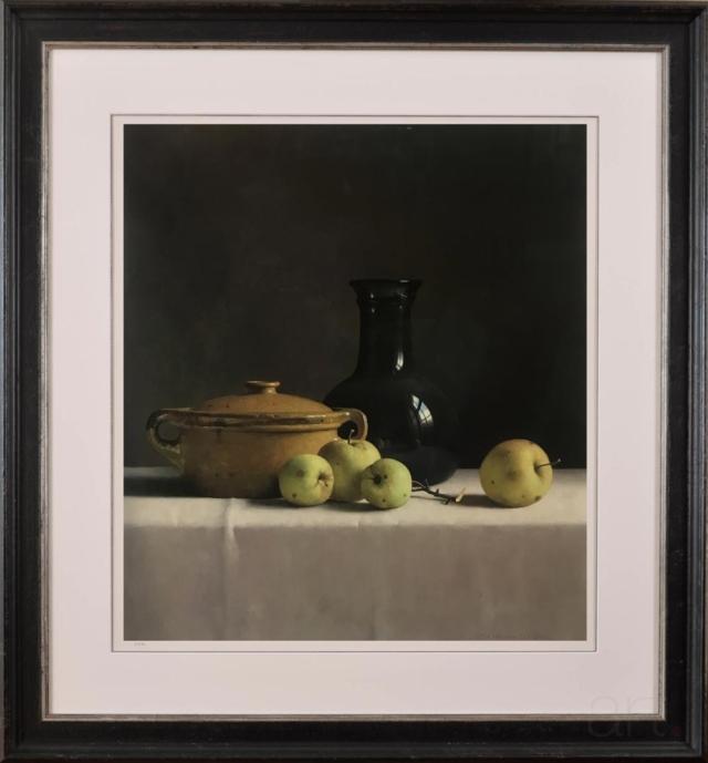 Stilleven met appels en gele bak – Henk Helmantel – Art center Hoorn